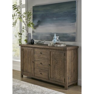 Lansdale Wooden Sideboard Millwood Pines