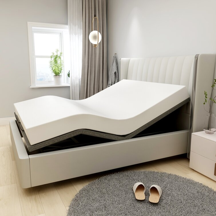 Bloxom Zero Gravity Adjustable Bed with Wireless Remote