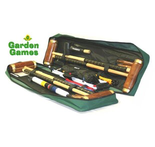 Hurlingham 4 Player Croquet Set By Freeport Park