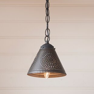 Gracie Oaks Westin 1-Light Cone Pendant