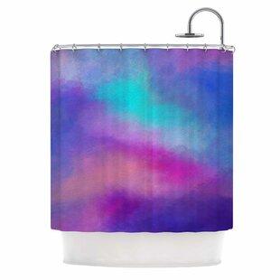 Abstract II Single Shower Curtain