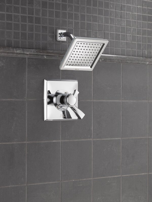 Delta Dryden™ Shower Faucet with H2Okinetic Technology & Reviews ...
