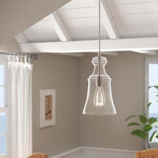 Laurel Foundry Modern Farmhouse Zada 1-Light Bell Pendant