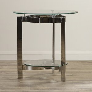 Nilda End Table by Everly Quinn
