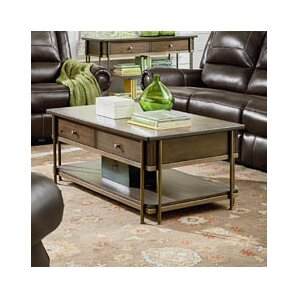 Nance Coffee Table with Magazine Rack by Sta..