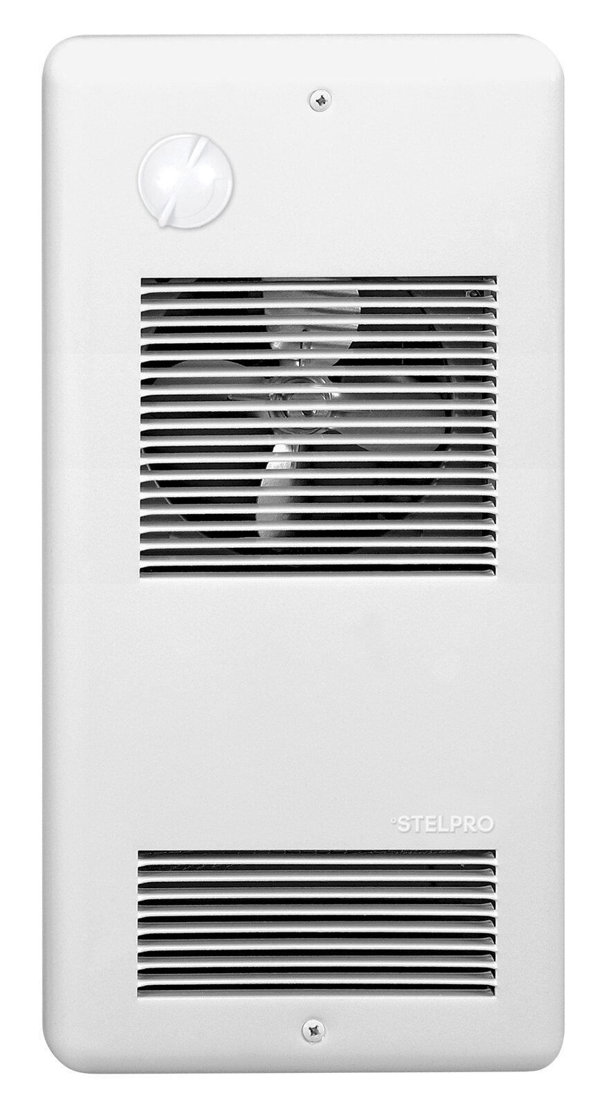 Stelpro 1500 Watt Electric Infrared Wall Mounted Heater Wayfair