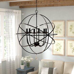 4 6 light globe pendants youll love wayfair eastbourne 6 light pendant mozeypictures Images