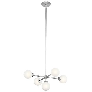 Orren Ellis Holahan 5-Light Chandelier