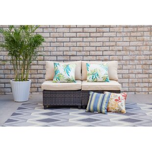 Pettit Patio Chair with Cushion (Set of 2)