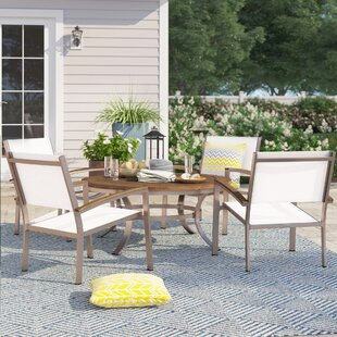 Caspian 5 Piece Conversation Set