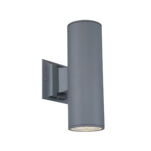 Latitude Run Brousseau 2-Light Outdoor LED Sconce