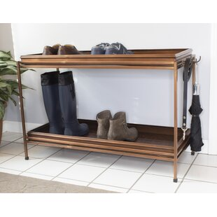 Buy clear Double Boot Tray with Stand By Canora Grey