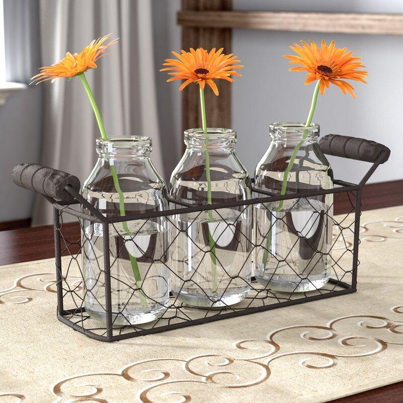 4 Piece Metal Basket Set