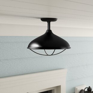 Haeli Outdoor Semi Flush Mount