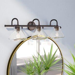 Mercury Row Bunnell 3-Light Cone Vanity Light