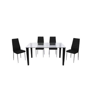 Henagar Dining Set With 6 Chairs By 17 Stories