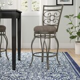 Mcdaniel Swivel Bar & Counter Stool by Andover Mills™