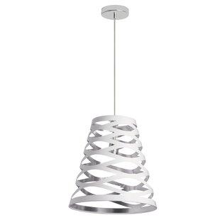 Braylen 1-Light Cone Pendant by Wade Logan