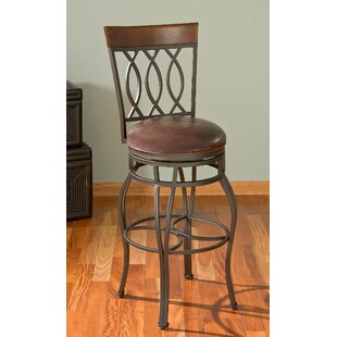 Compare prices Gilman 26 Swivel Bar Stool by Darby Home Co Reviews (2019) & Buyer's Guide