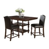 Langley 3 Piece Dining Set by Charlton Home®