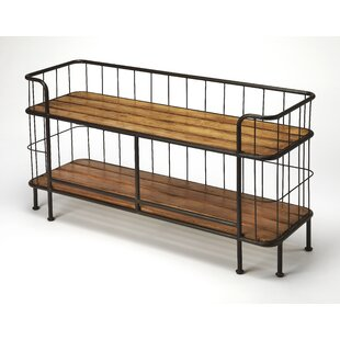 Gracie Oaks Dundressan Industrial Chic Console Table