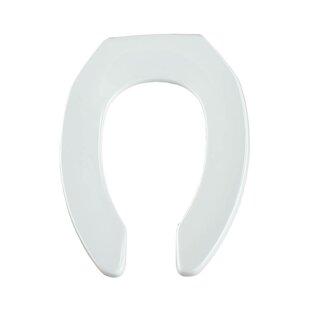 Olsonite Commercial Plastic Elongated Toilet Seat