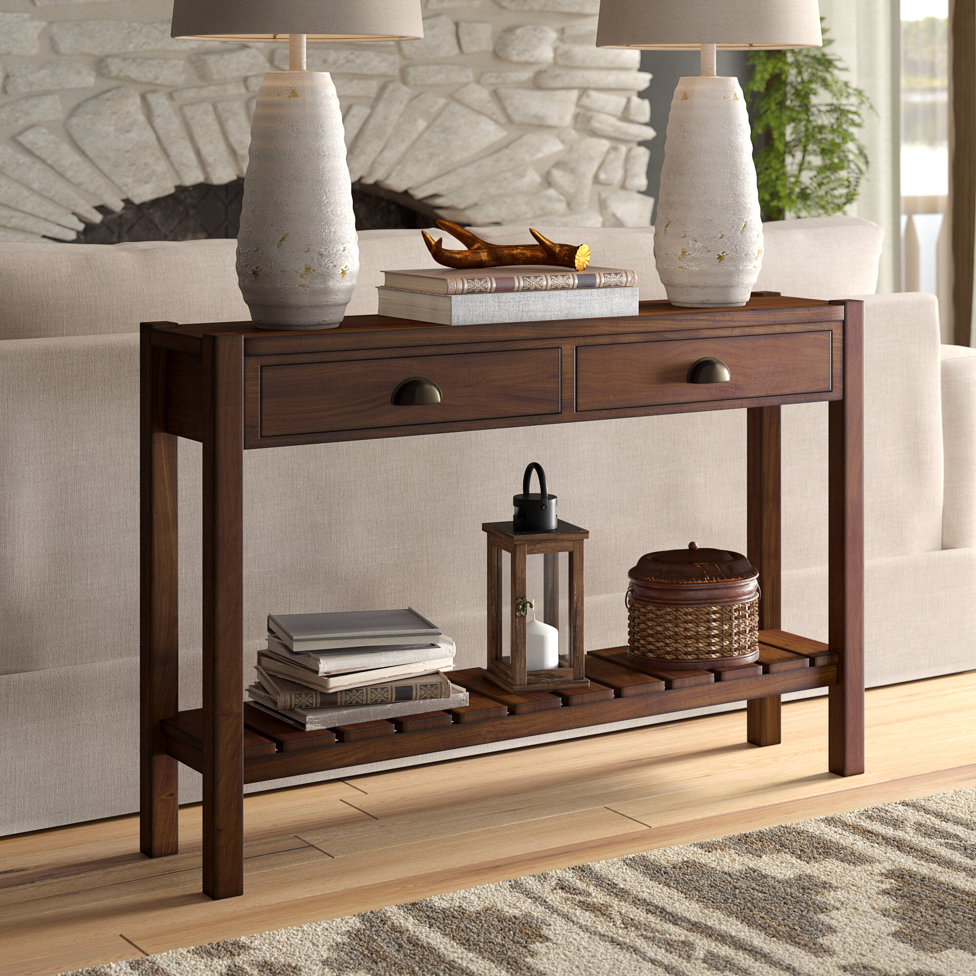 Three Posts Berkley 46 Console Table Reviews Wayfair
