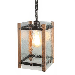 Foundry Select Brownstown 1-Light Square/Rectangle Pendant