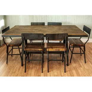 Mitzi 7 Piece Dining Set Millwood Pines