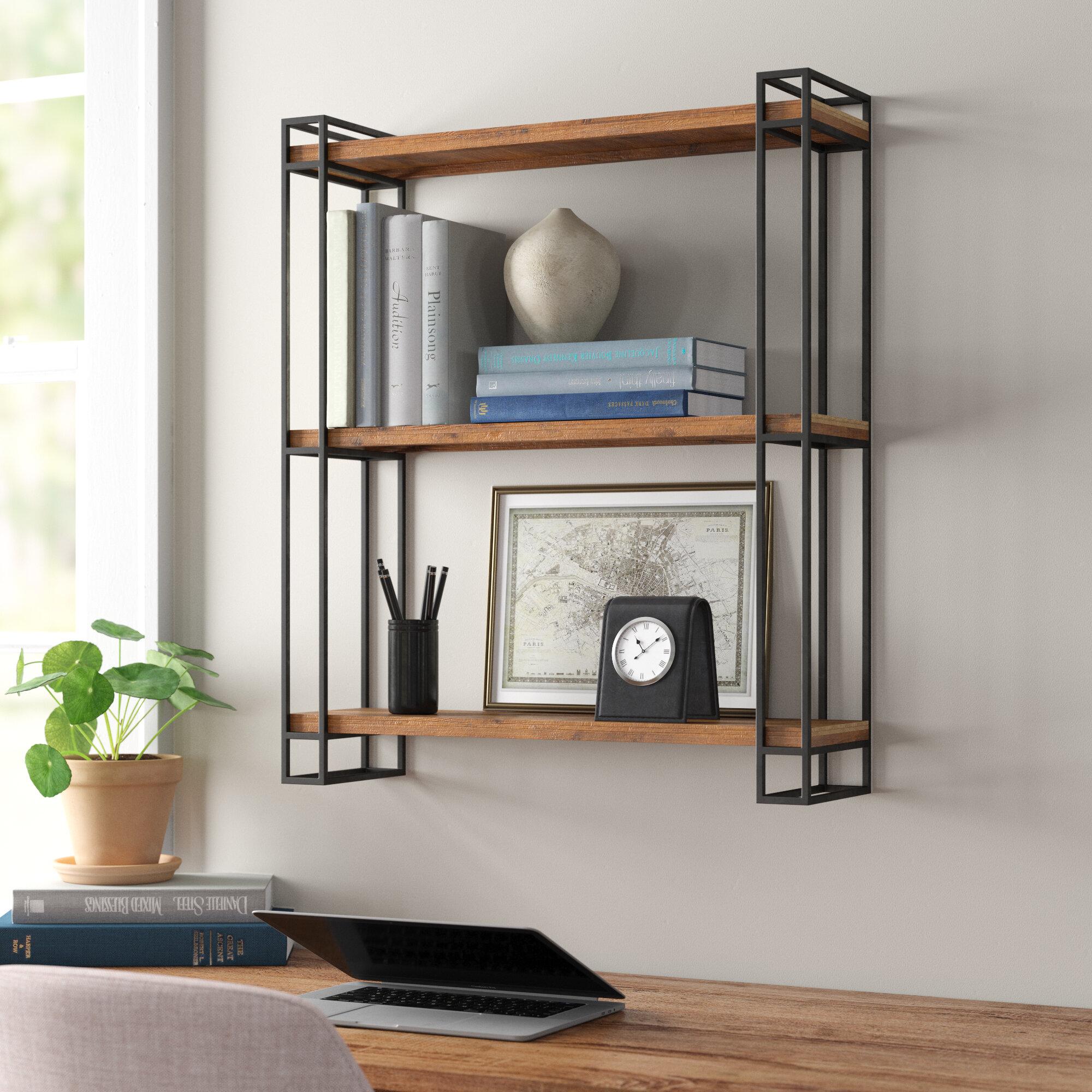 Metal Wall Shelves Wayfair