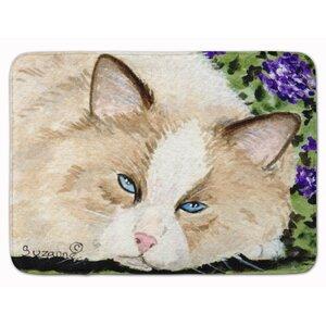 Cat Memory Foam Bath Rug