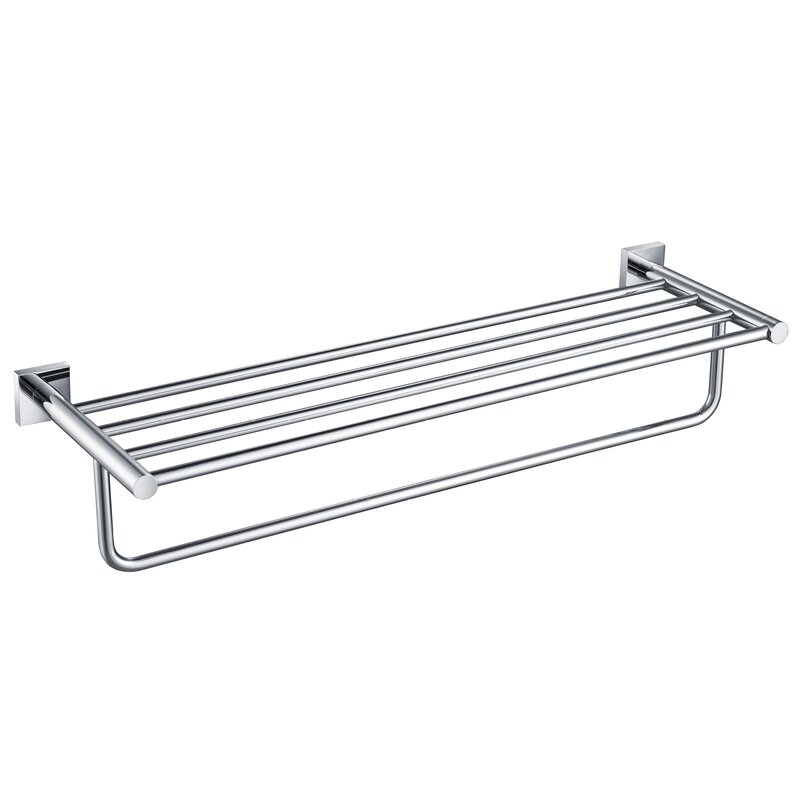 Kraus Ventus Wall Mounted Towel Rack Reviews Wayfair