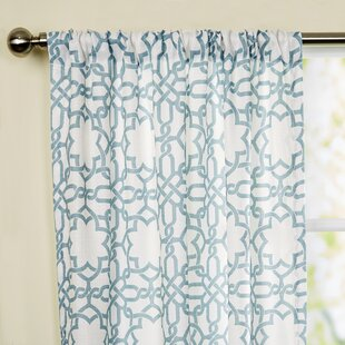 Bonair Single Curtain Panel by Birch Lane™ Heritage