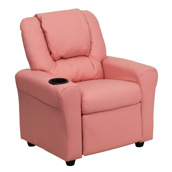 Incredible Pink Kids Recliner Wayfair Andrewgaddart Wooden Chair Designs For Living Room Andrewgaddartcom