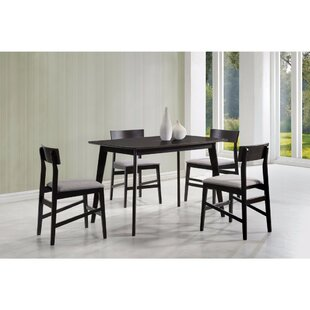 Deckert 5 Piece Dining Set Wrought Studio