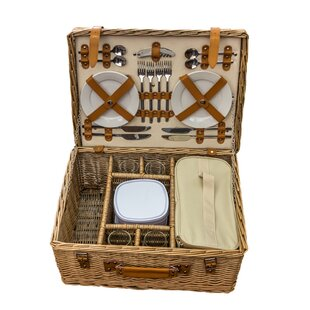 Blenheim Fitted Picnic Basket By August Grove