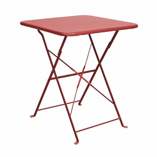 Daisy Jane Folding Iron Bistro Table By Butlers