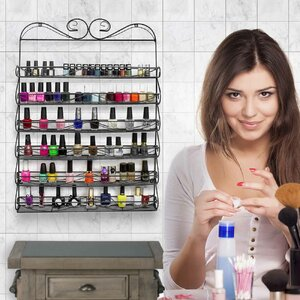 6 Tier Nail Polish Cosmetic Organizer