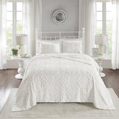 Oversized Keeney Chenille Bedspread Set