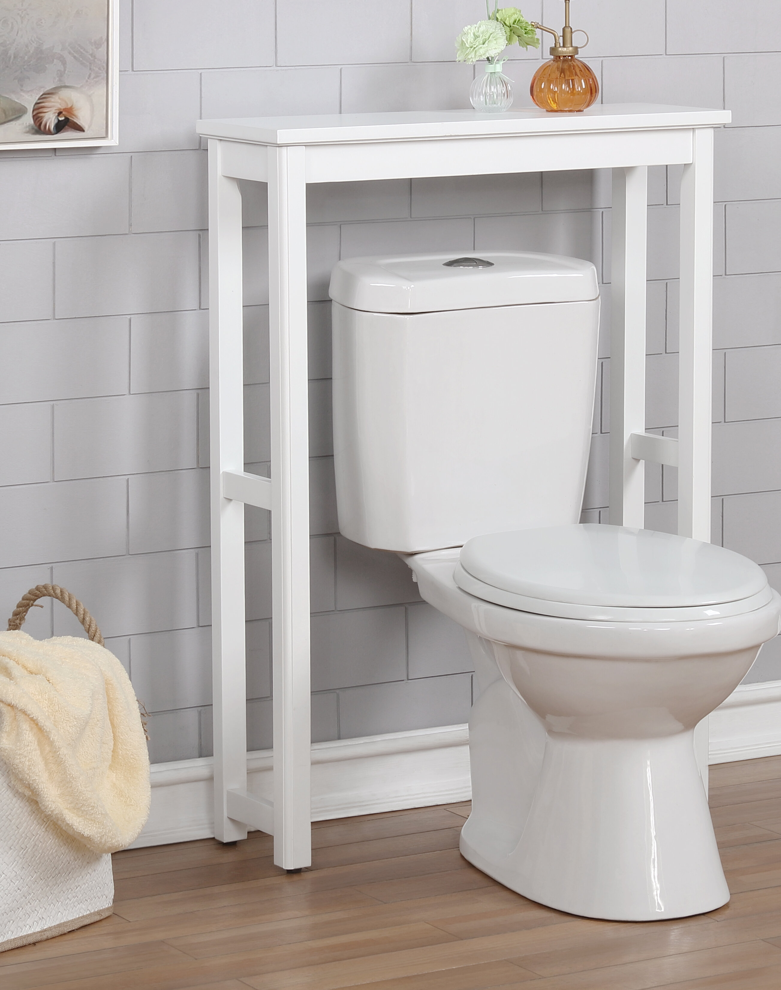 Highland Dunes Carruthers 27 W X 37 H X 9 D Over The Toilet Storage Reviews Wayfair