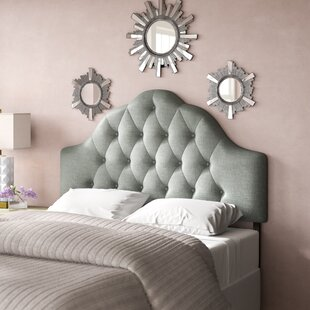 Read Reviews Joao Upholstered Panel Headboard by Willa Arlo Interiors