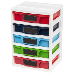 Affordable Price 5 Drawer Storage Chest (Set of 2) By IRIS USA, Inc.