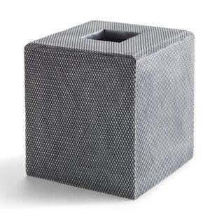 Kassatex Fine Linens Mesh Tissue Box Cover