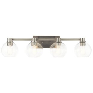 Affordable Price Hoover 4-Light Vanity Light By Latitude Run