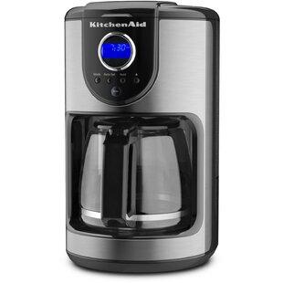 KitchenAid 12 Cup Programmable Coffee Maker by KitchenAid