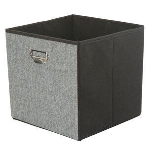 Reviews Collapsible Storage Linen Cube By Rebrilliant