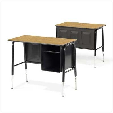 "Virco 765 Series Laminate 34"" Student puter Desk with"