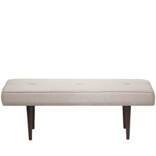 Aldgate Tufted Polyester Upholstered Bedroom Bench by Corrigan Studio
