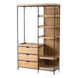Berklee Wooden Shelf - Black by Foundry Select