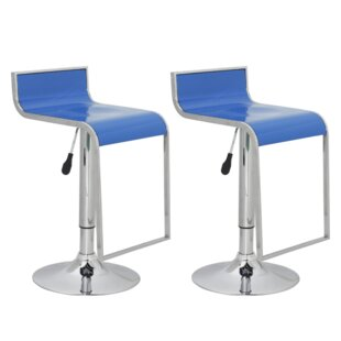 Height Adjustable Bar Stools (Set Of 2) By Metro Lane